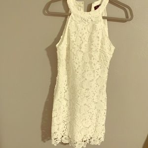 Perfect little white lulus dress only worn once